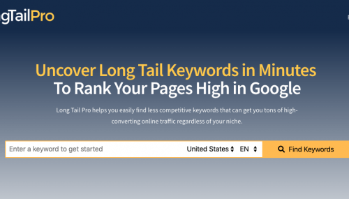 Long Tail Pro Review + 50% Discount [Verified 2019]