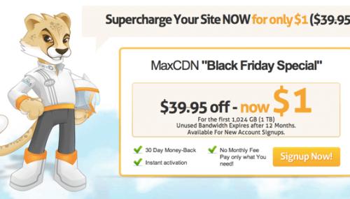 MaxCDN Black Friday Deals [2019 Verified] : 50% Off