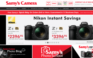 Samy's Camera Black Friday 2019 Deals, Sales & Ads