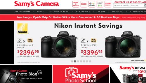 Samy's Camera Black Friday 2019 Deals, Sales & Ads