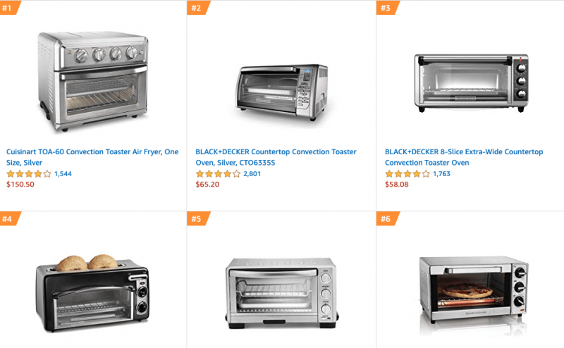 Toaster Oven Black Friday