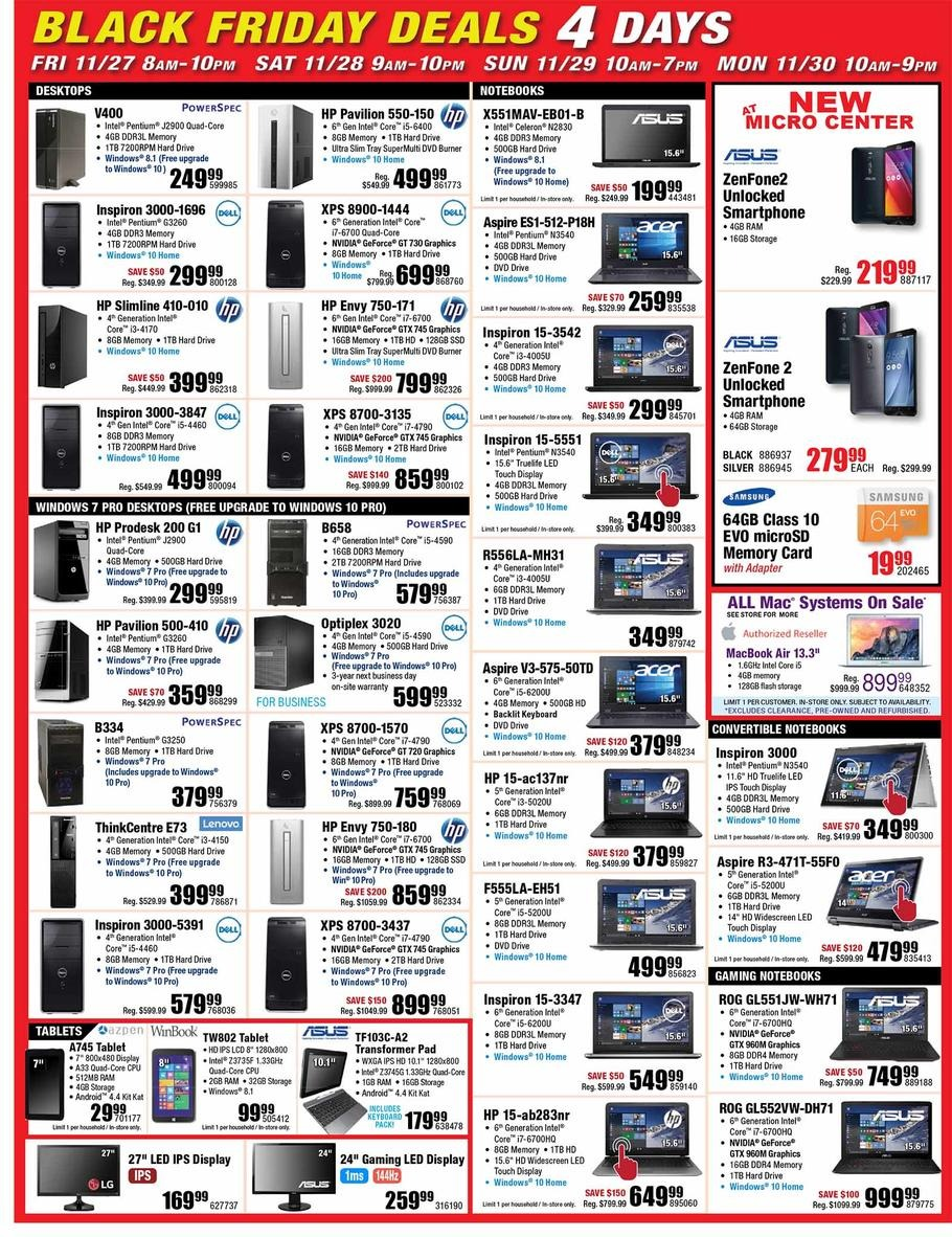 Microcenter-black-friday-ad