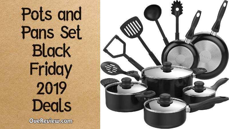 black friday pots & pans deals 2019
