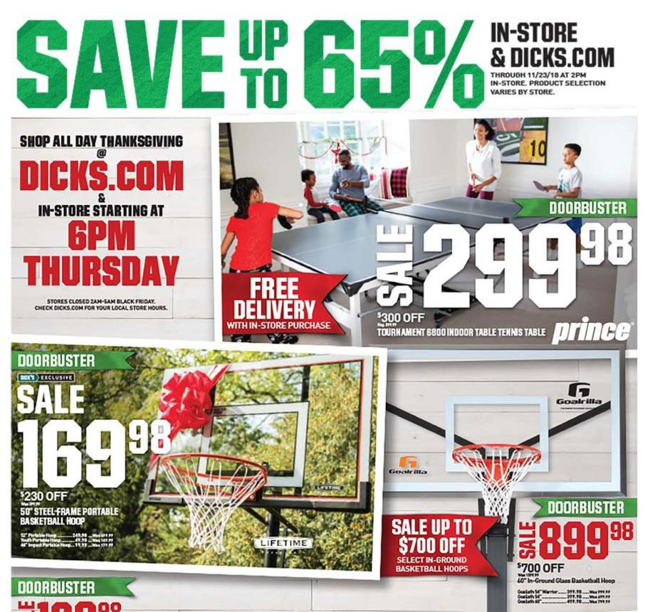 $20 OFF DICK'S Sporting Goods Black Friday 2021 Ad, Deals & Sales 1