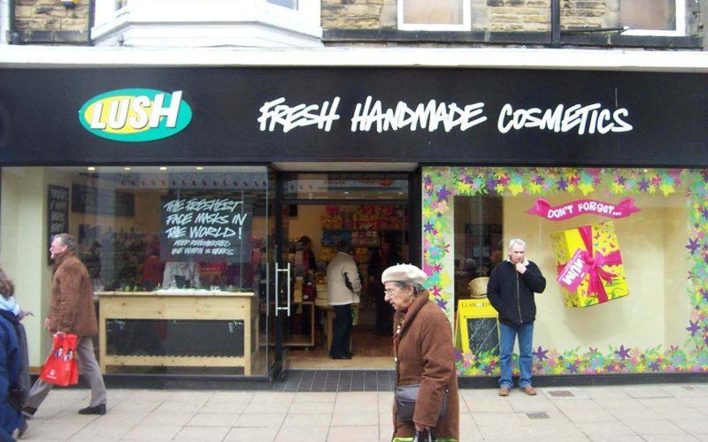 Lush Cosmetics sale