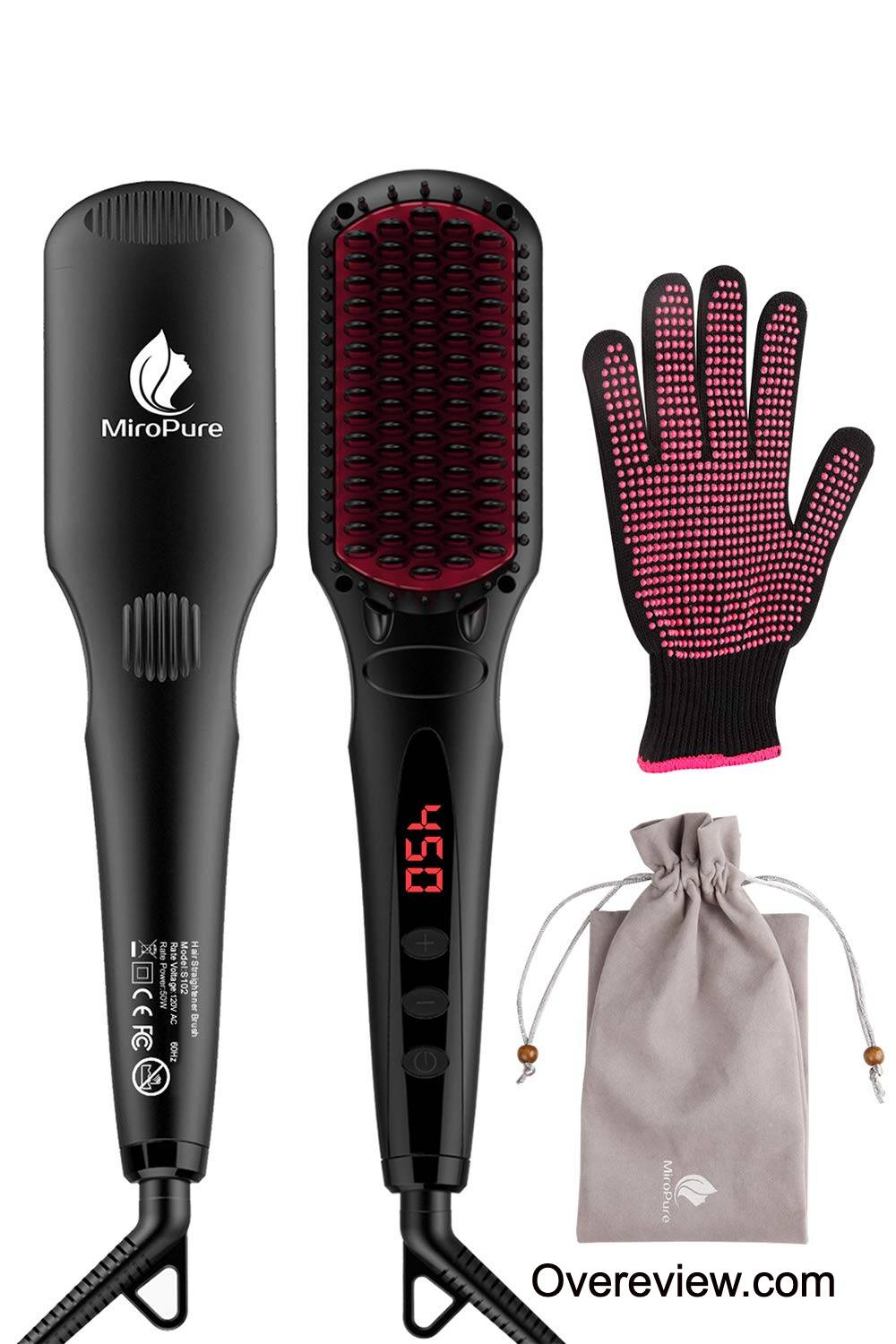 Top 10 Best Hair Straightening Brushes Reviews {Buying Guide} [year] 3