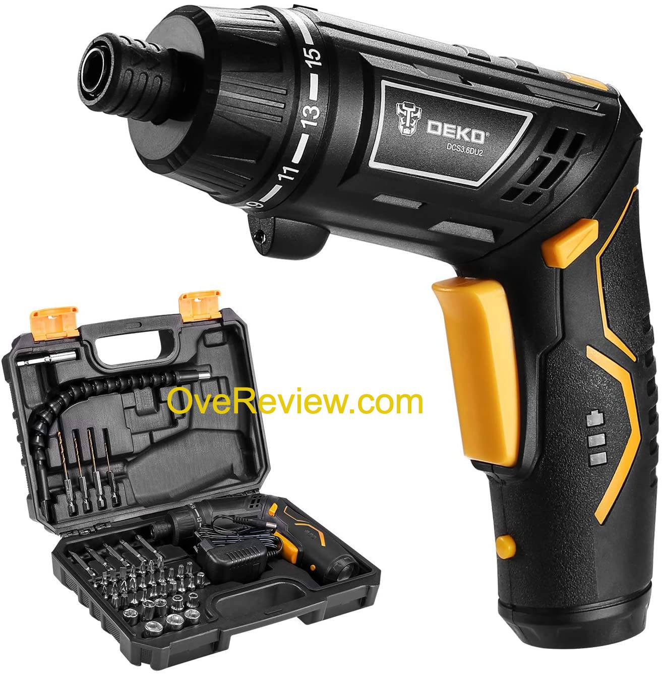 12 Best Cordless Screwdrivers of [year] - {Buyer's Guide} 10
