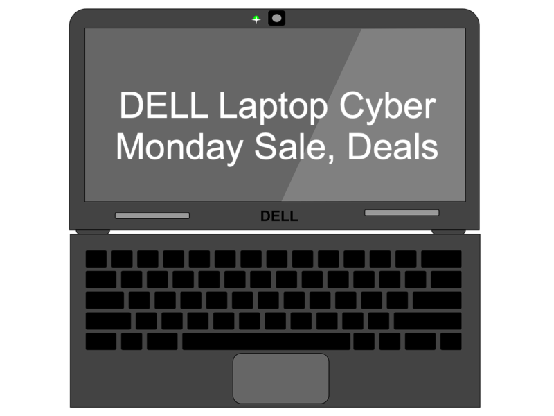 DELL Laptop Cyber Monday Sale, Deals