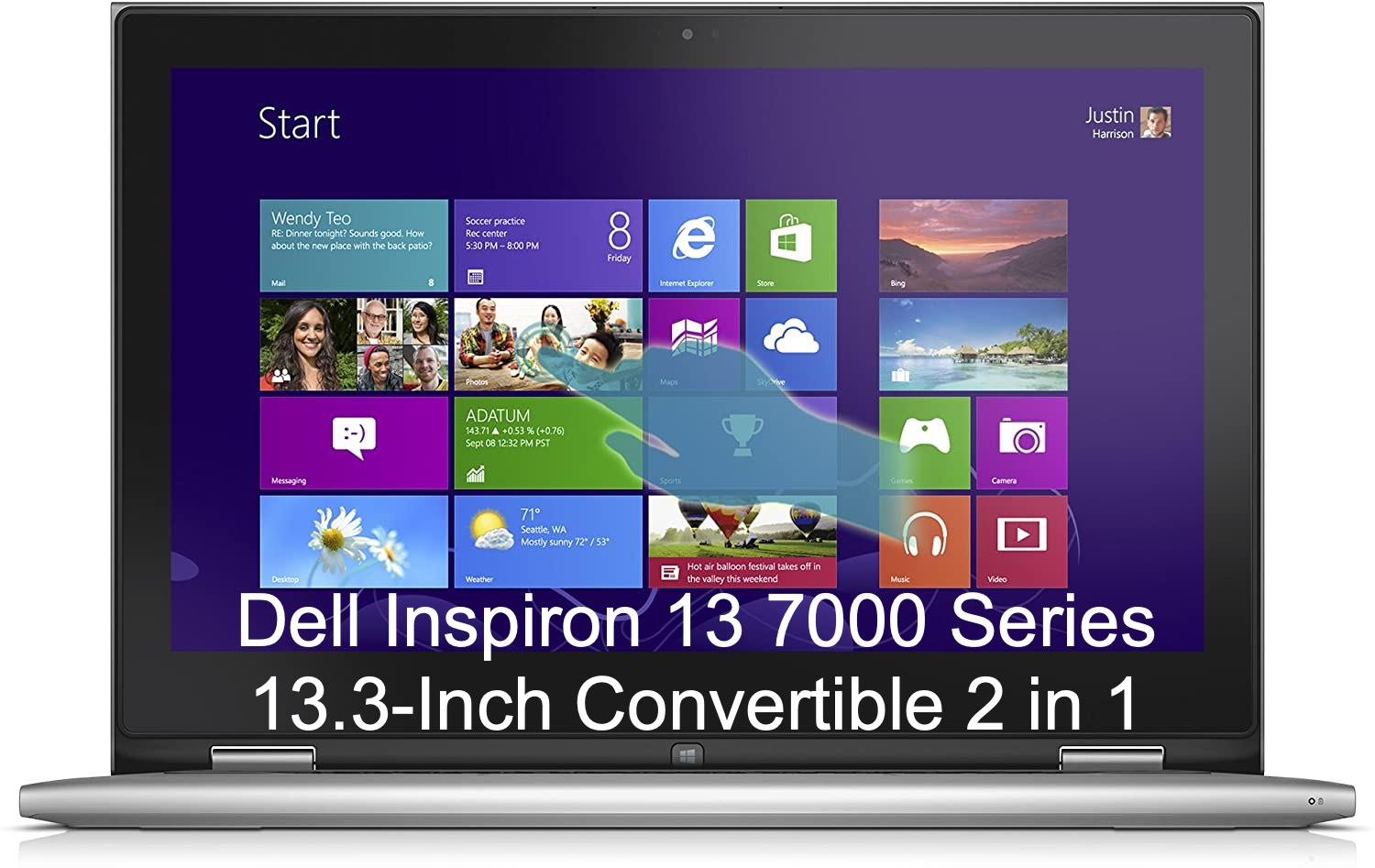 Dell Inspiron 13 7000 Series 13.3-Inch Convertible 2 in 1