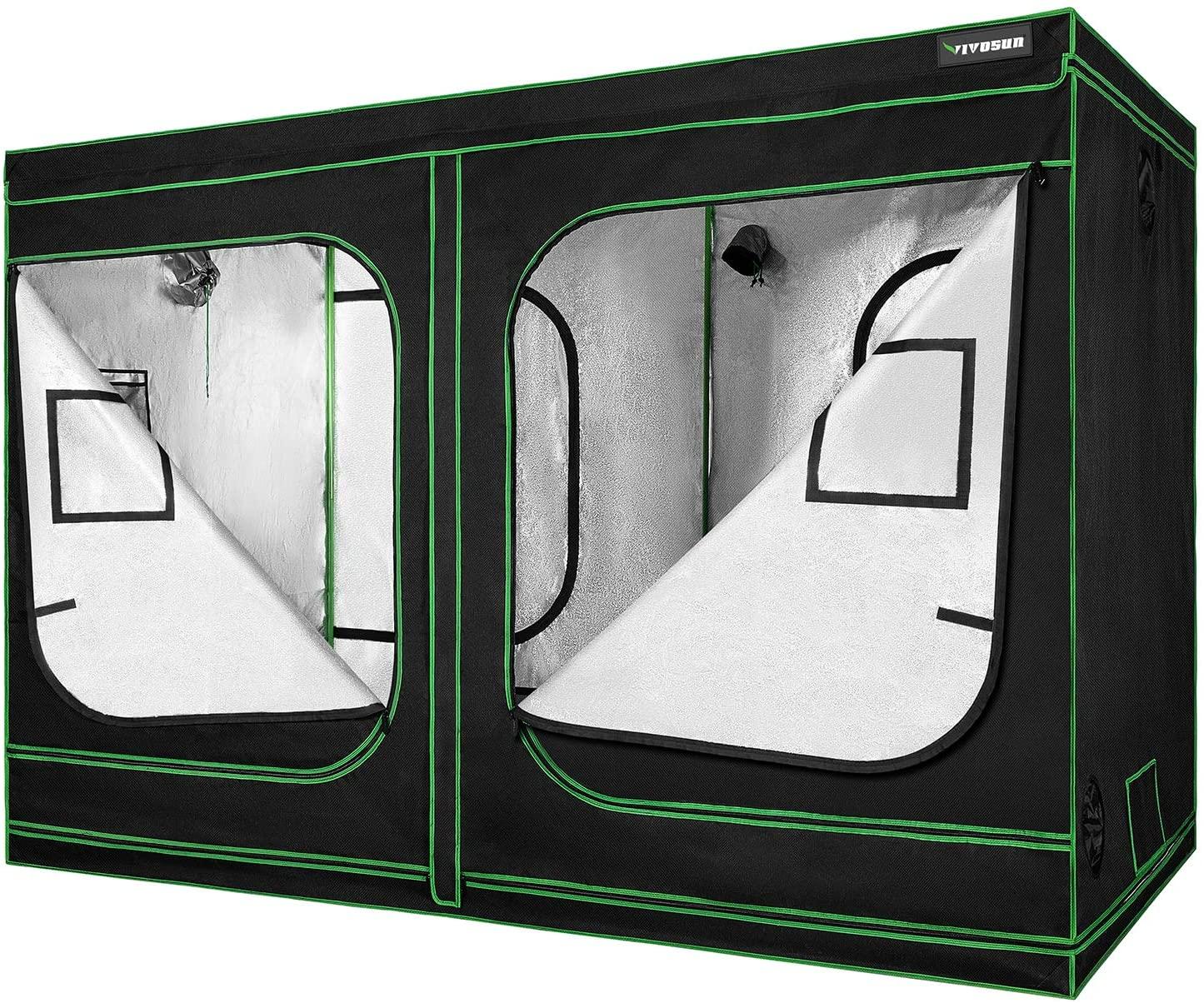 VIVOSUN 96x48x80 Mylar Hydroponic small Grow Tents