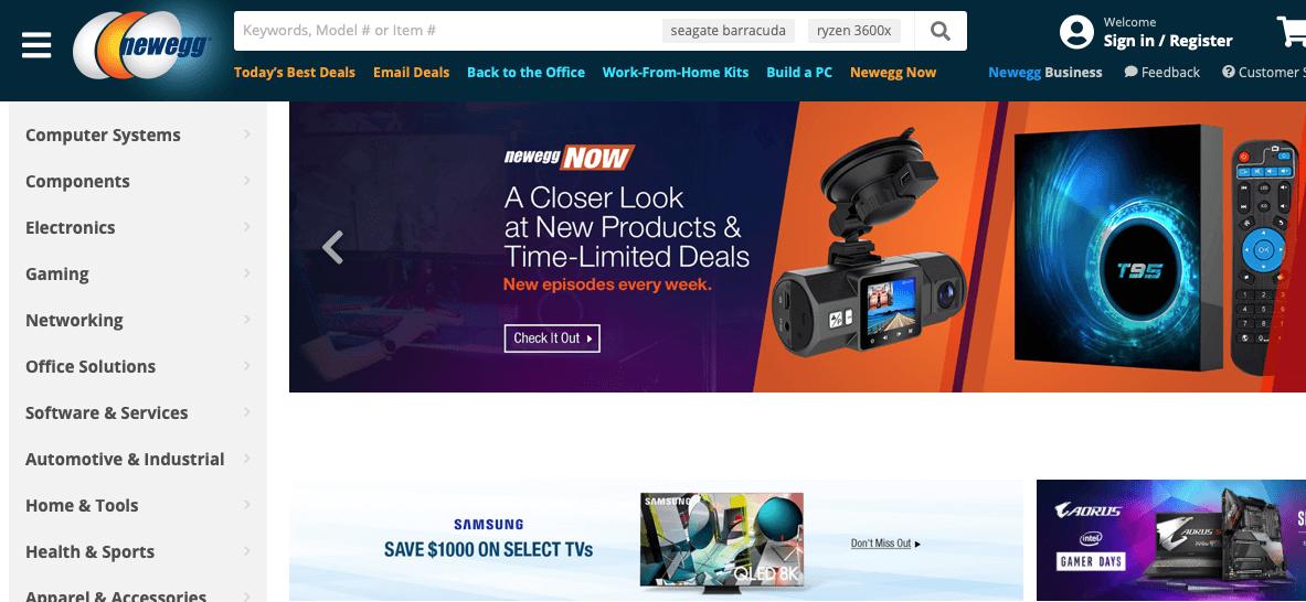 newegg_cyber_monday_sale